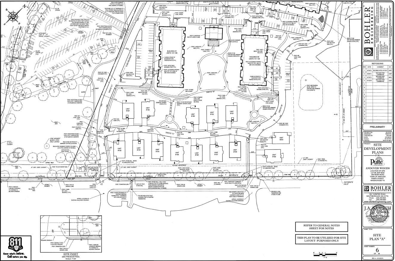Riverside Woods site plan